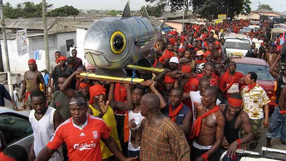 GHANA - WIE DAS SEIN, SO DER SARG